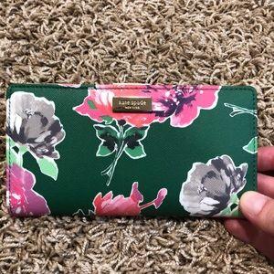 Floral Kate Spade wallet